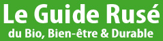 Site name is Le Guide Rusé du Bio et du Bien-être & Durable